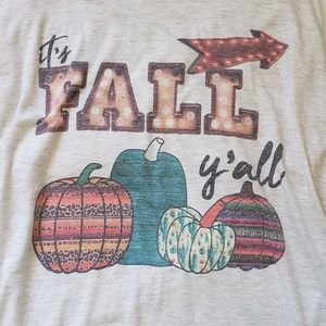 American Apparel Tops - Its Fall Yall Tee. Size XL.